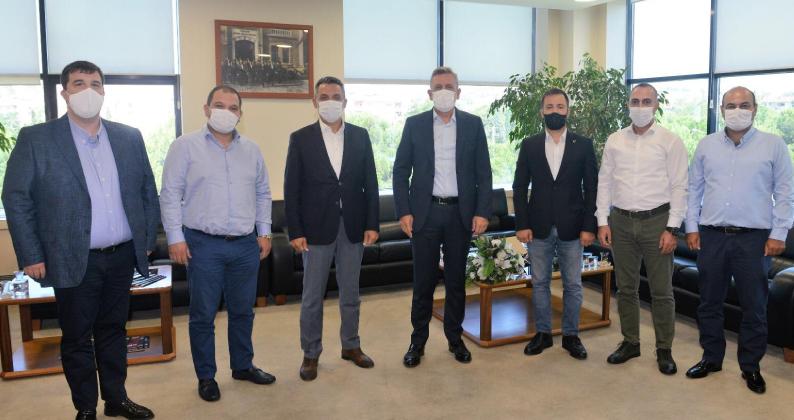 BURSED Yönetiminden Btso Başkanı İbrahim Burkay'a Ziyaret