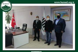 Türkiye İstatistik Kurumu (TÜİK) Bursa Bölge Müdürlüğüne BURSED'in ziyareti