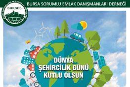 8 Kasım Dünya Şehircilik Günü Kutlu Olsun